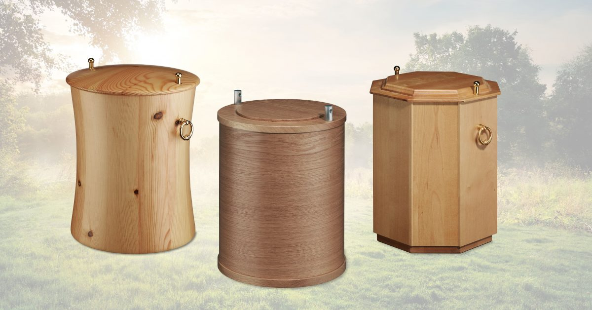 Urnen-Auswahl aus Holz